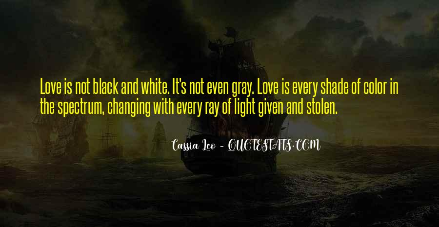Quotes About Color Black And White #433893