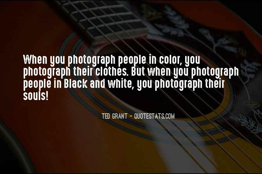 Quotes About Color Black And White #492246