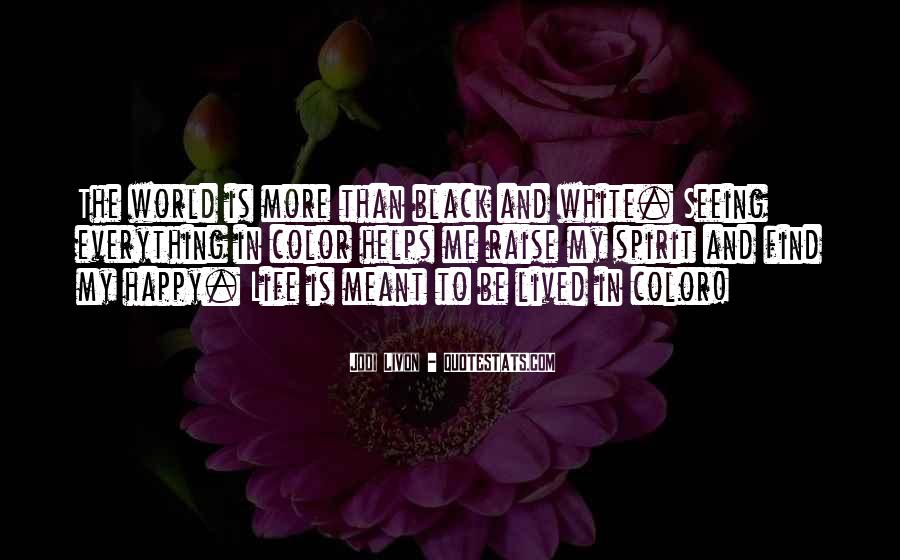 Quotes About Color Black And White #543452