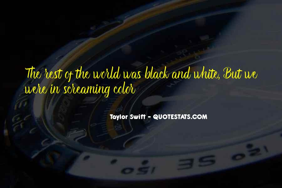 Quotes About Color Black And White #583379