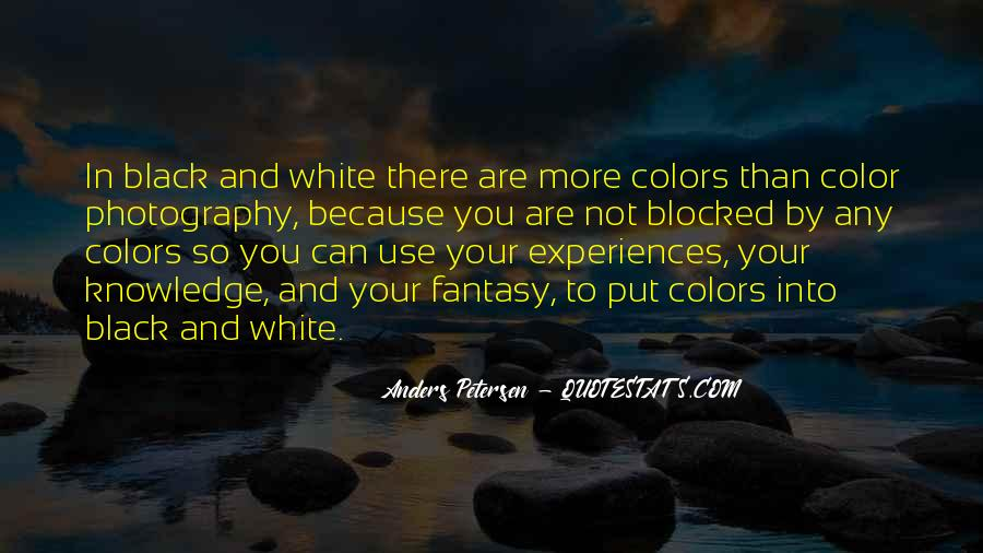 Quotes About Color Black And White #593895
