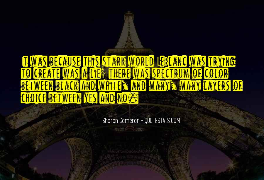 Quotes About Color Black And White #939441