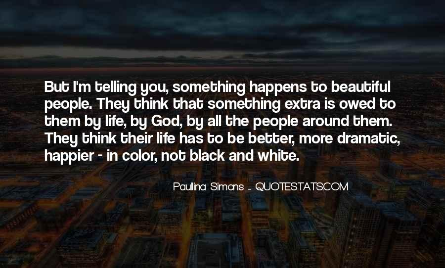 Quotes About Color Black And White #946074