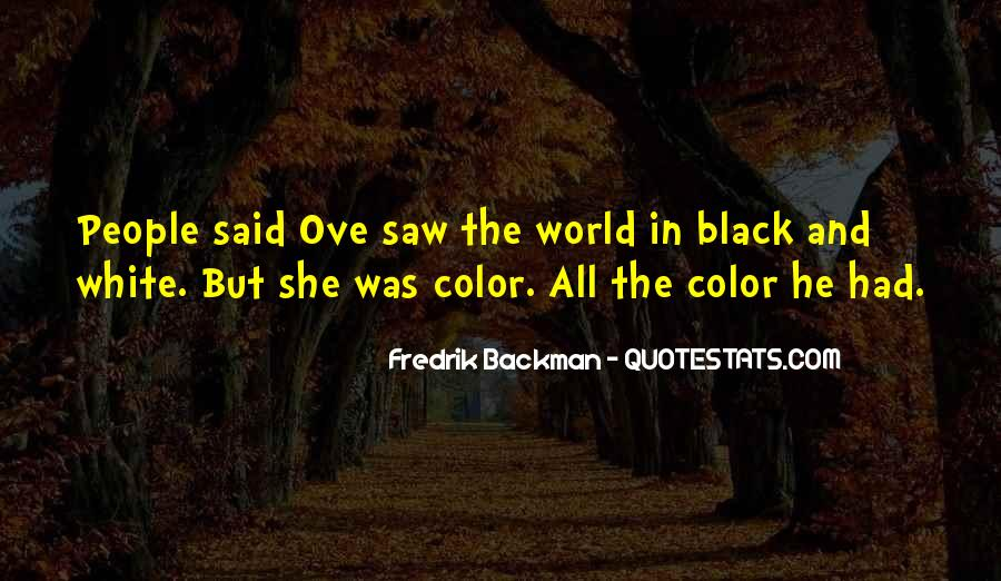 Quotes About Color Black And White #954473