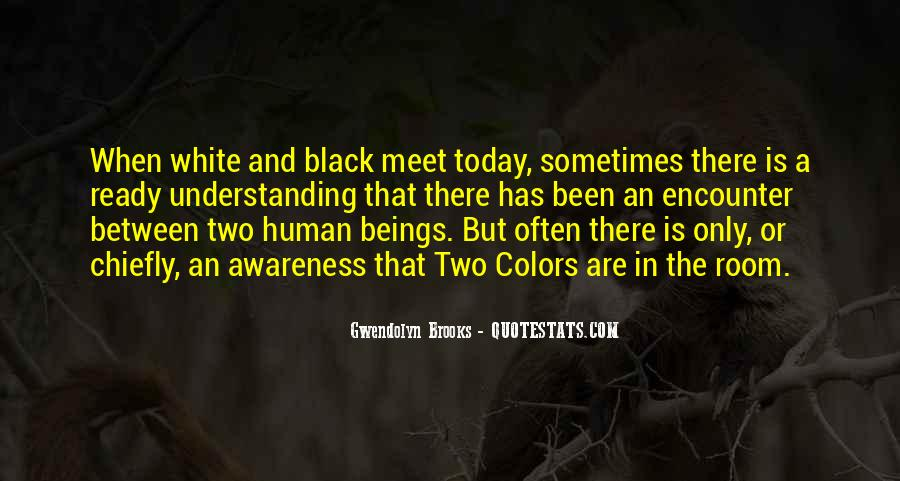Quotes About Color Black And White #996907