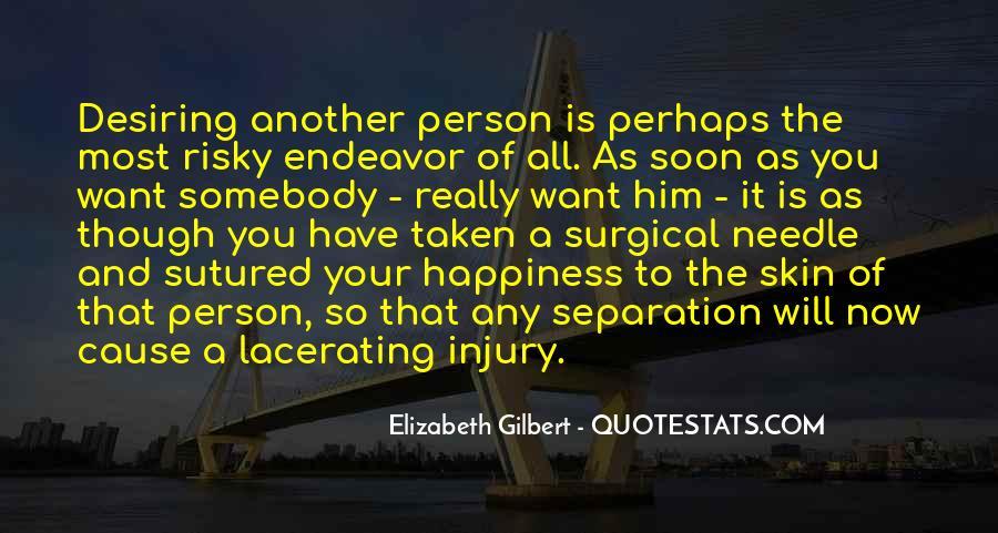 Quotes About Desiring Something #155472