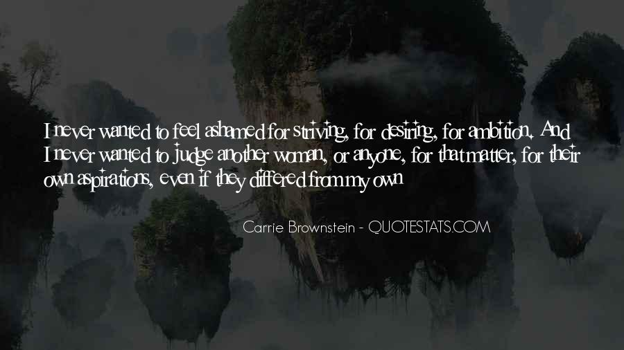 Quotes About Desiring Something #176081