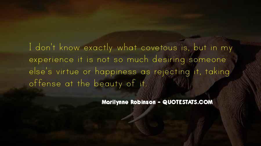 Quotes About Desiring Something #183844