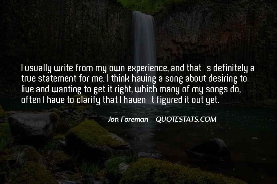 Quotes About Desiring Something #240839