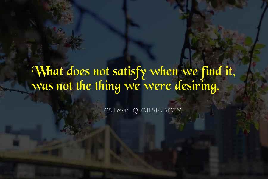 Quotes About Desiring Something #300604