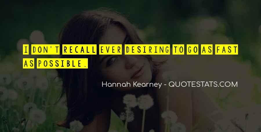 Quotes About Desiring Something #44936