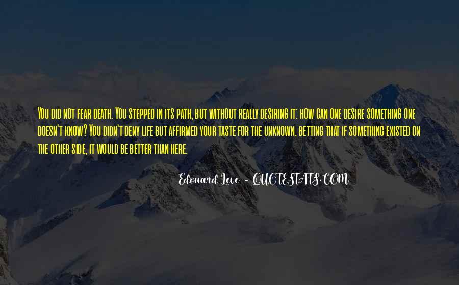 Quotes About Desiring Something #983530