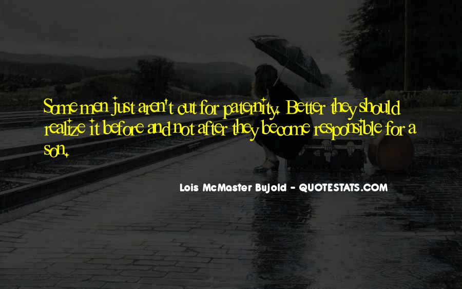 Quotes About Paternity #473630