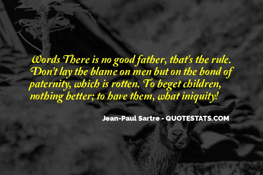 Quotes About Paternity #78888