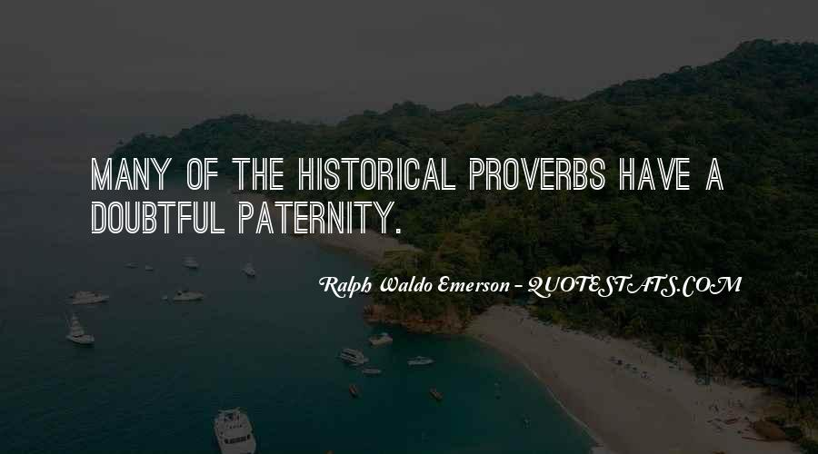 Quotes About Paternity #84495