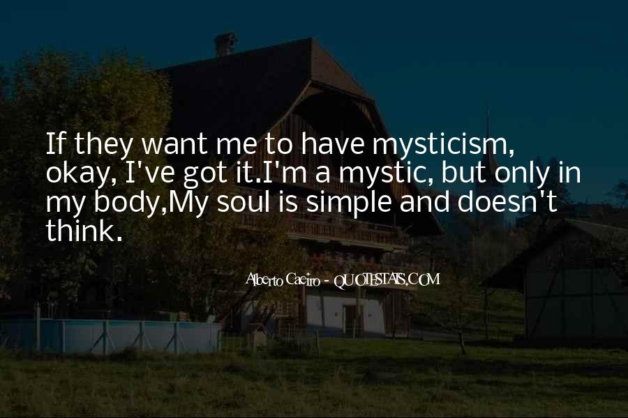 Quotes About Mysticism #421416