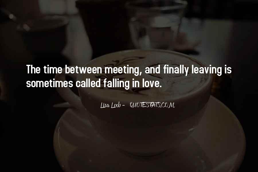 Quotes About Meeting Your Love #310303