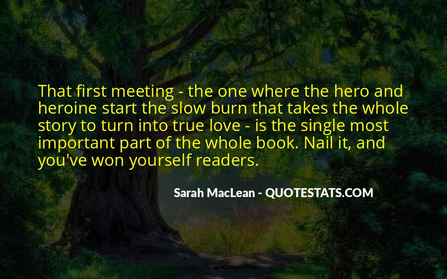Quotes About Meeting Your Love #95842