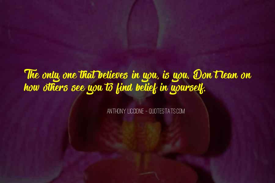 Quotes About The Inner Self #151403