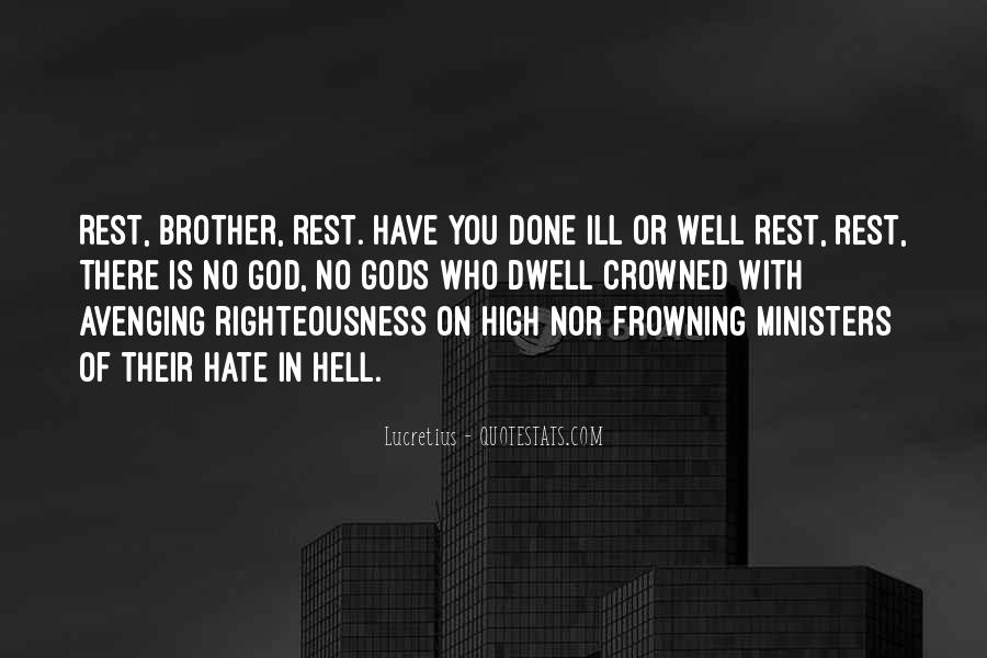 Quotes About Rest In God #117146