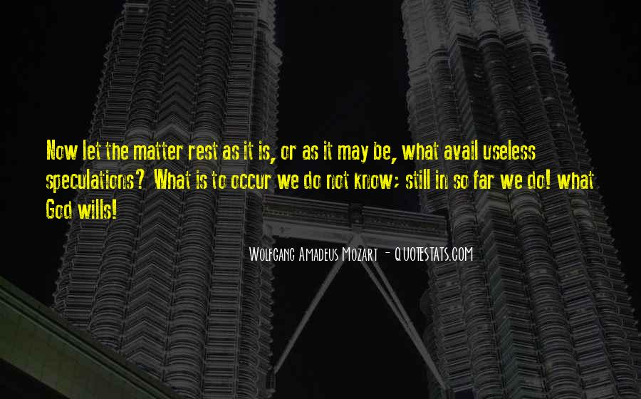 Quotes About Rest In God #162747