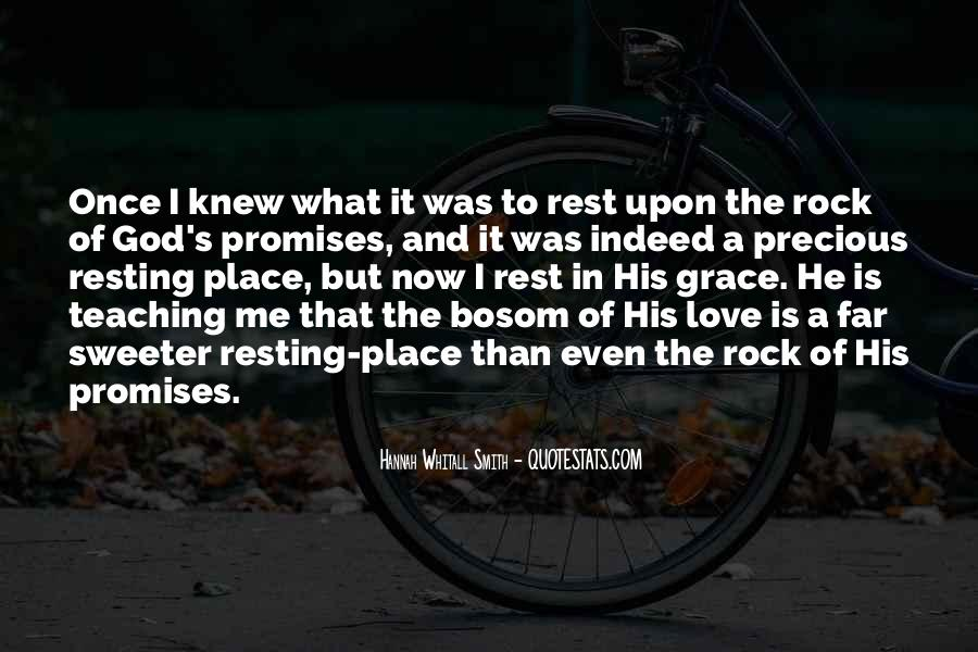 Quotes About Rest In God #167804