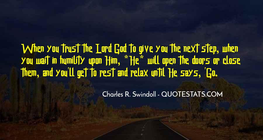 Quotes About Rest In God #169993