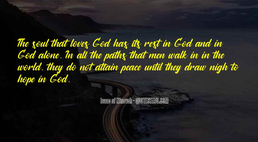 Quotes About Rest In God #187613