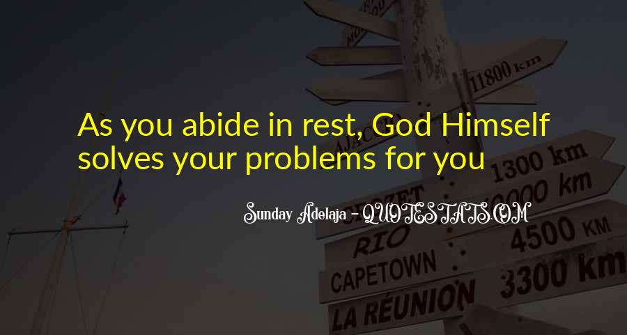 Quotes About Rest In God #271201