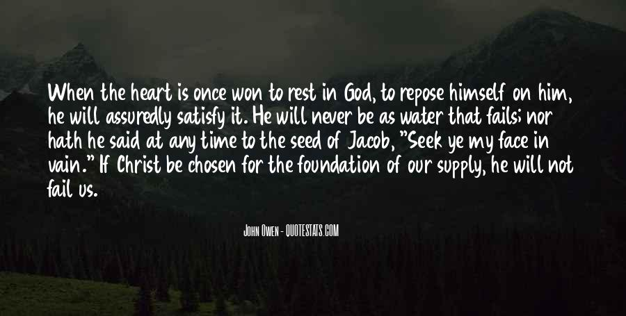 Quotes About Rest In God #276908