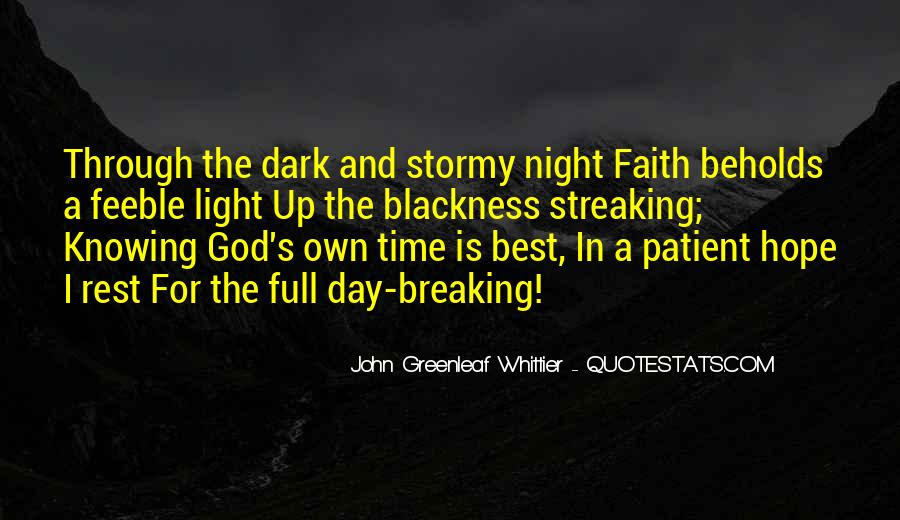 Quotes About Rest In God #327665