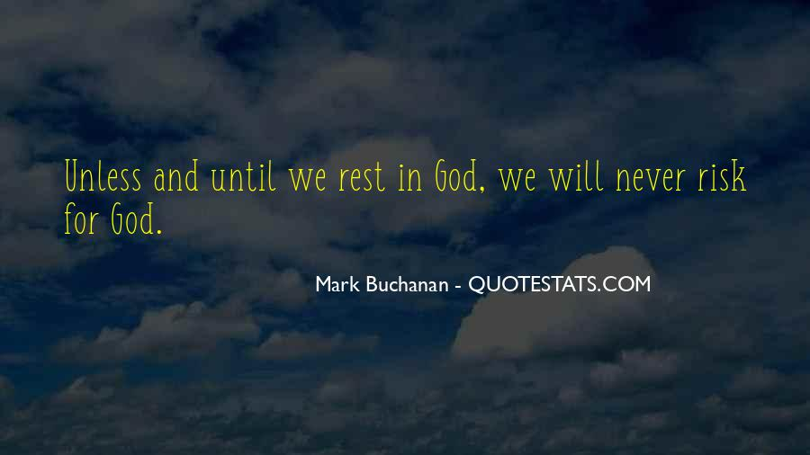 Quotes About Rest In God #329089