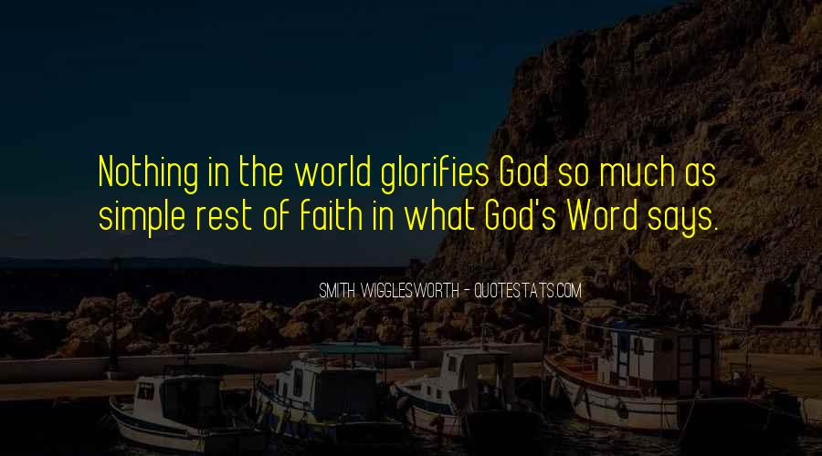 Quotes About Rest In God #335955
