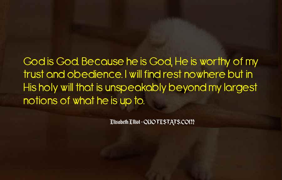 Quotes About Rest In God #427913