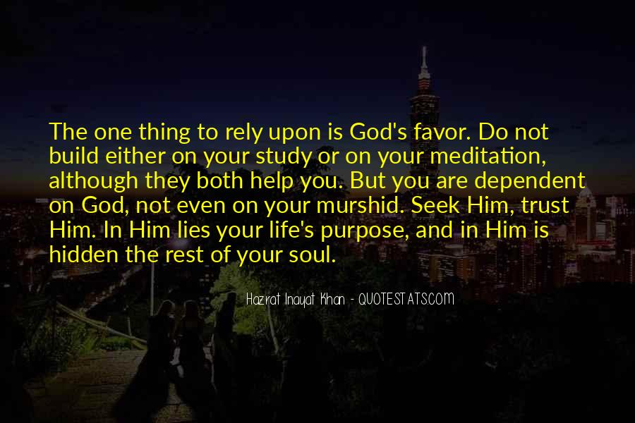 Quotes About Rest In God #479539