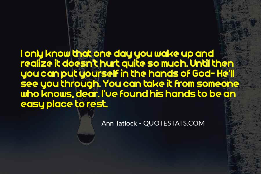Quotes About Rest In God #717155