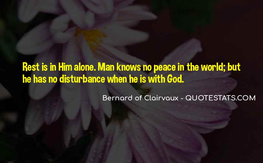 Quotes About Rest In God #771973