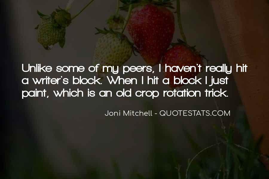 Quotes About Crop Rotation #652066