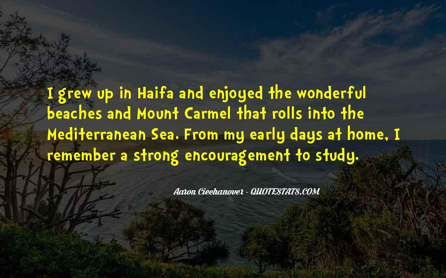 Quotes About Haifa #1702198