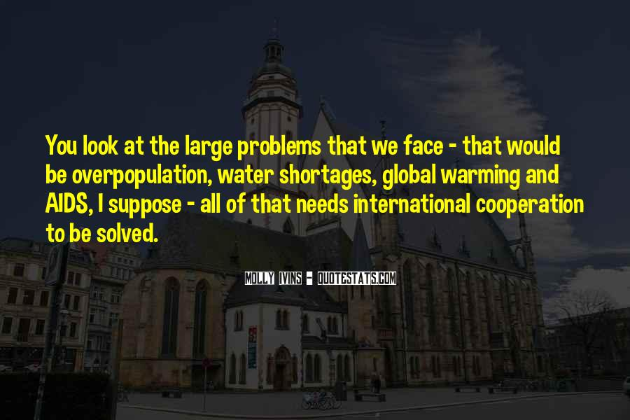 Quotes About Water Cooperation #1285887