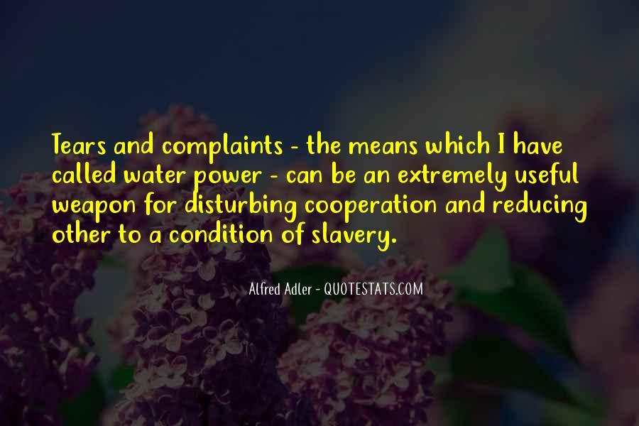 Quotes About Water Cooperation #287271