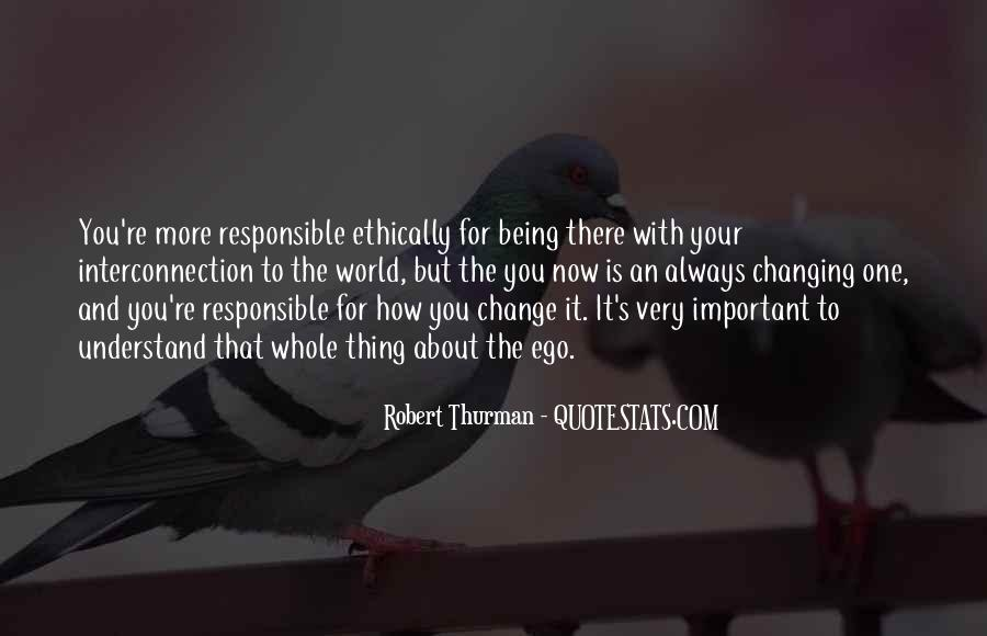 Quotes About Being Less Important #25154