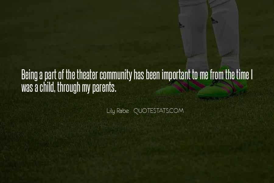 Quotes About Being Less Important #45732