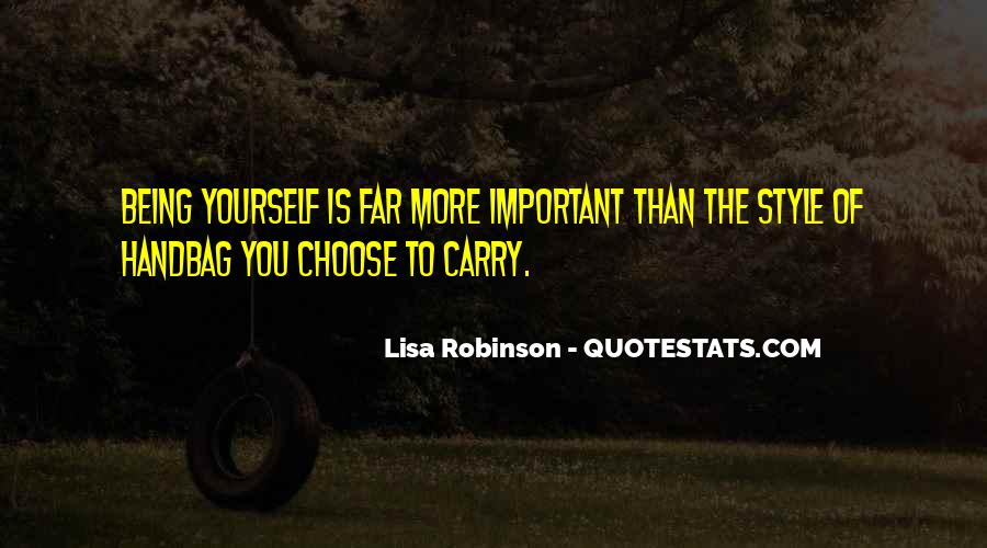 Quotes About Being Less Important #45807