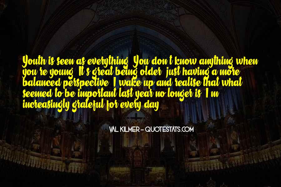 Quotes About Being Less Important #48051