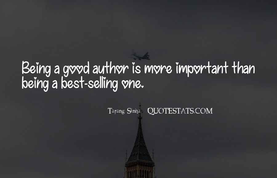 Quotes About Being Less Important #73786