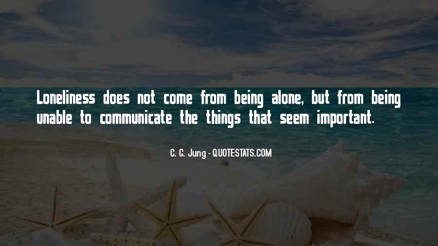 Quotes About Being Less Important #88438