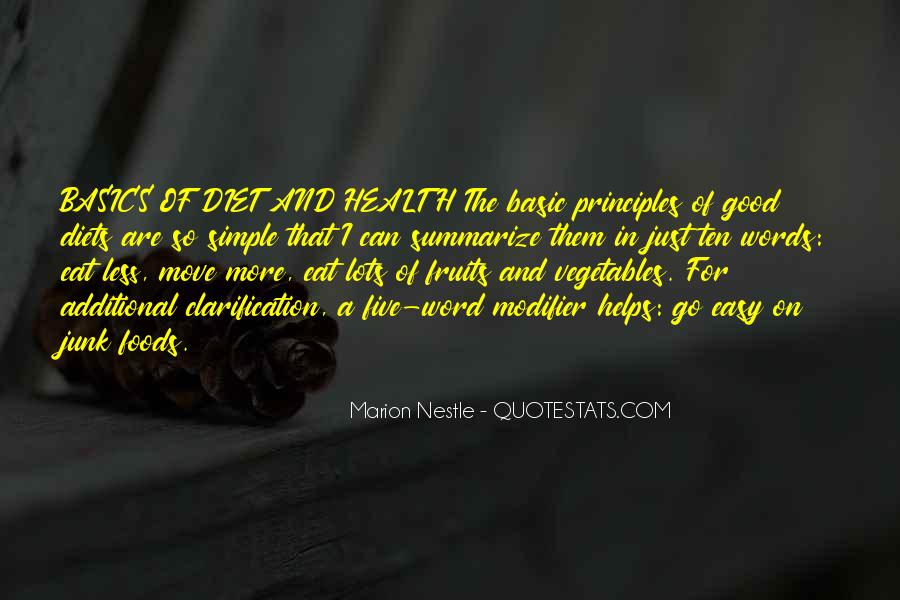 Quotes About Nestle #1553916