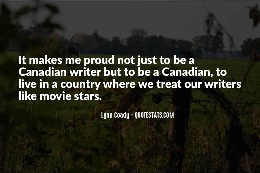 Quotes About Proud Of Your Country #306596