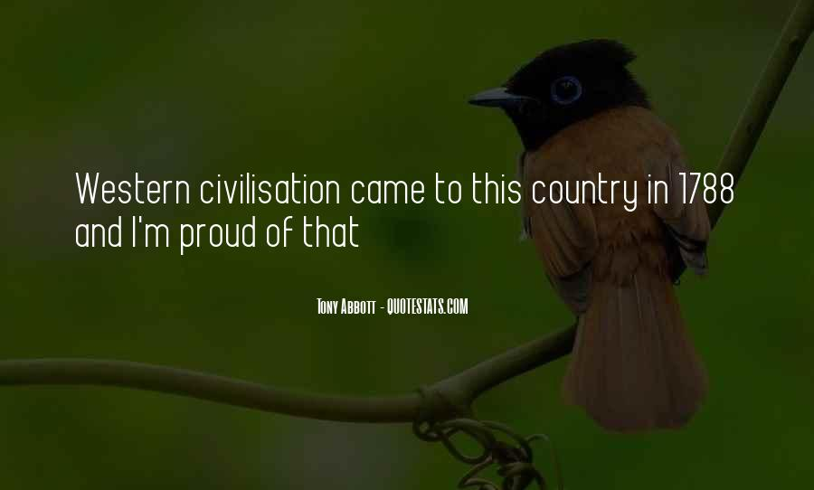 Quotes About Proud Of Your Country #482236